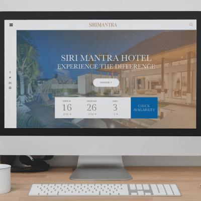 รับออกแบบเว็บโรงแรม รับทำเว็บไซต์